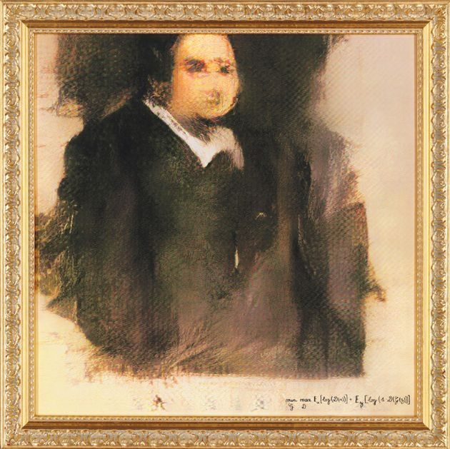 Christie's Is Auctioning A Portrait Painted Entirely By