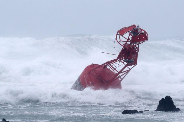 태풍 '솔릭' 이동 속도가 다시 급격히 빨라지고