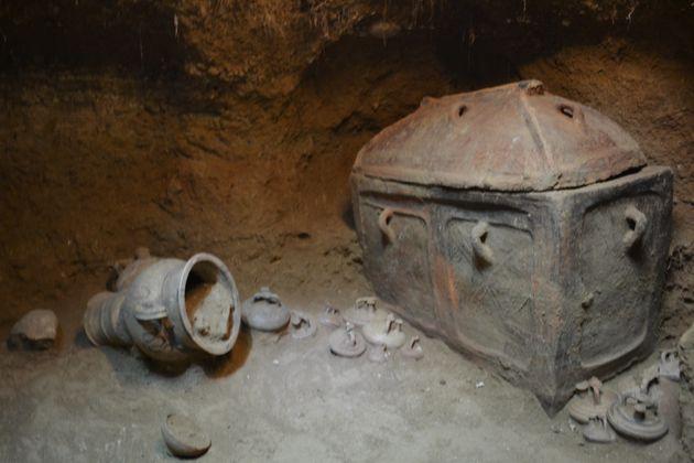 Ασύλητος θαλαμοειδής τάφος αποκαλύφθηκε στην