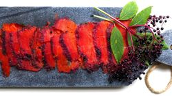 Gravlax With Elderberry And