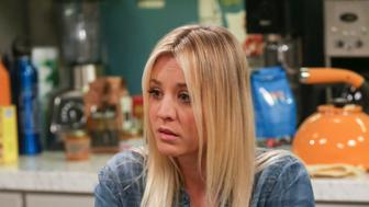 LOS ANGELES - APRIL 3: 'The Monetary Insufficiency' - Pictured: Penny (Kaley Cuoco). Sheldon goes to Vegas to win money for science. Also, Penny and Bernadette take Amy wedding dress shopping, but her terrible choice entangles them in a web of lies, on THE BIG BANG THEORY, Thursday, April 26 (8:00-8:31 PM, ET/PT) on the CBS Television Network. (Photo by Michael Yarish/CBS via Getty Images)