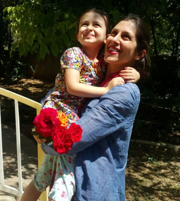 Nazanin Zaghari-Ratcliffe is reunited with her daughter,