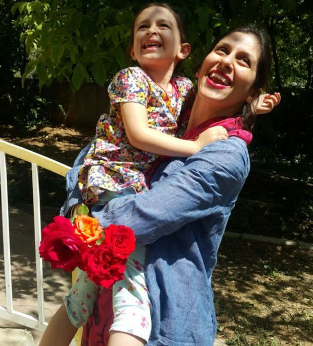 Nazanin Zaghari-Ratcliffe reunited with her daughter