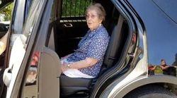 Την συνέλαβαν την ημέρα που έκλεισε τα 93 της
