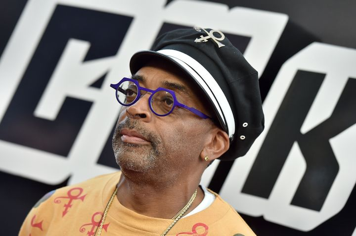 'BlacKkKlansman' director Spike Lee