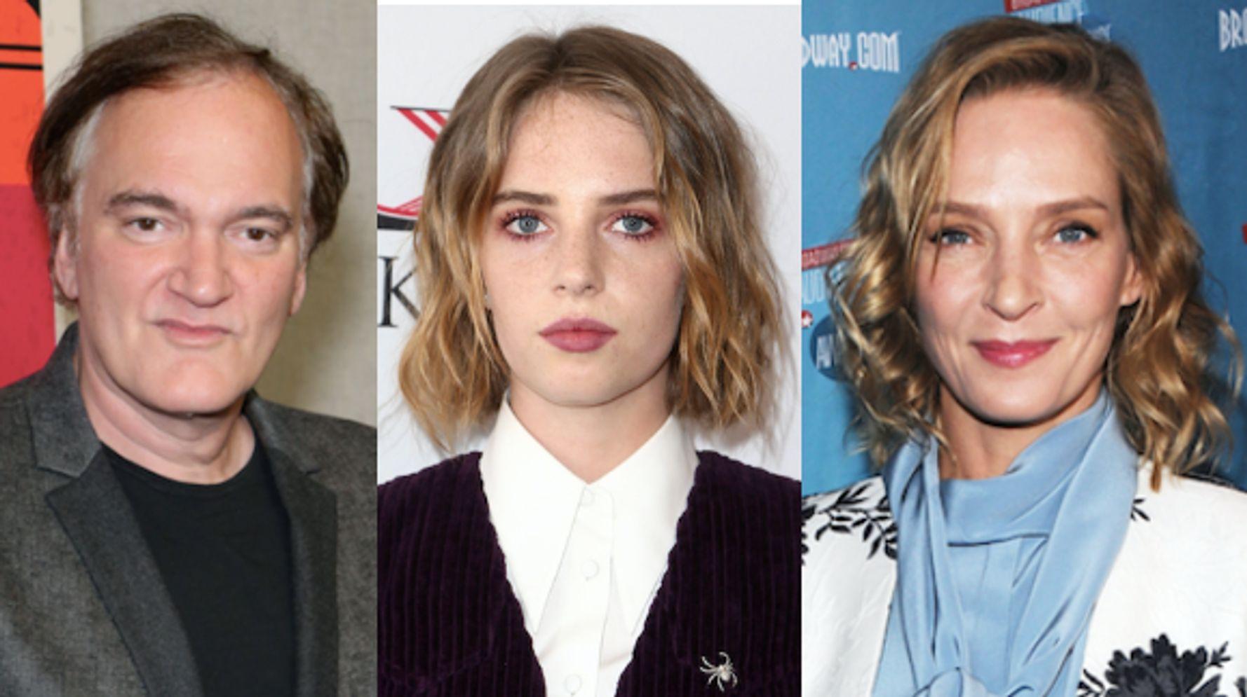 Quentin Tarantino Casts Uma Thurman's Daughter Maya Hawke In