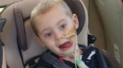 Selfless 4-Year-Old Paralysed By Rare Virus Praised For Helping Kids In Hospital
