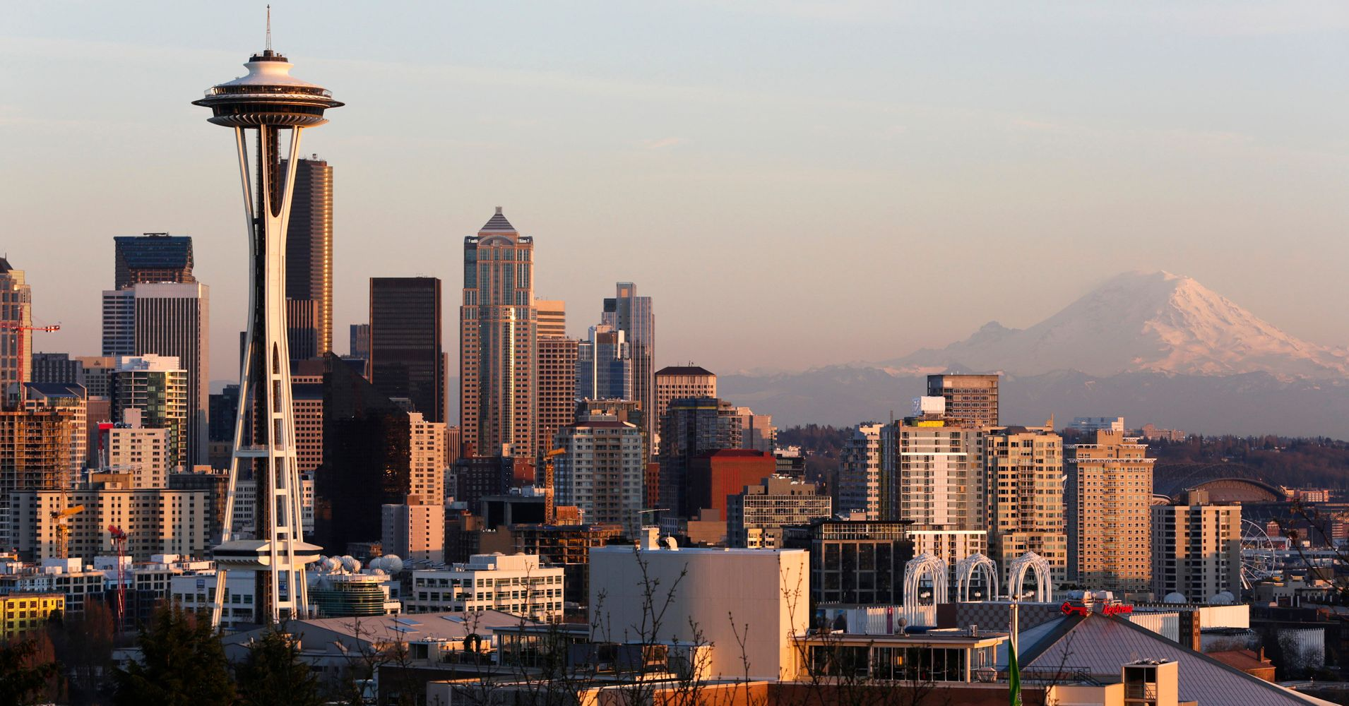 Wildfire Smoke Begins To Clear Up In Seattle | HuffPost