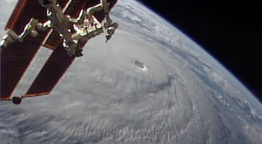 Hurricane: Nasa-Aufnahmen zeigen, wie der Sturm aus dem Weltraum