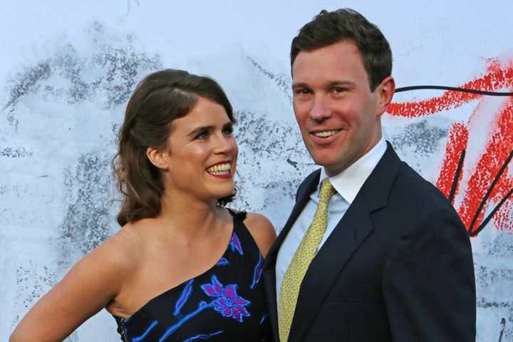 Princess Eugenie of York and Jack Brooksbank at theSerpentine Summer Party 2018 in London, England.