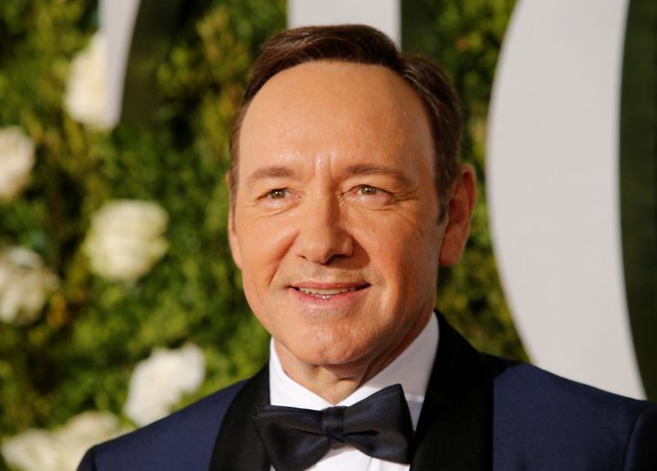 Actor Kevin Spacey is seen at the 2017 Tony Awards. Since last fall, more than 30 men have said they were victims of unw