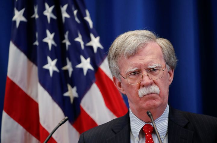 John Bolton, President Donald Trump's national security adviser, announced the administration's latest blow against the Unite