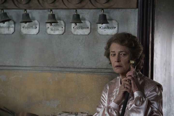 "Charlotte Rampling in ""The Little Stranger."""