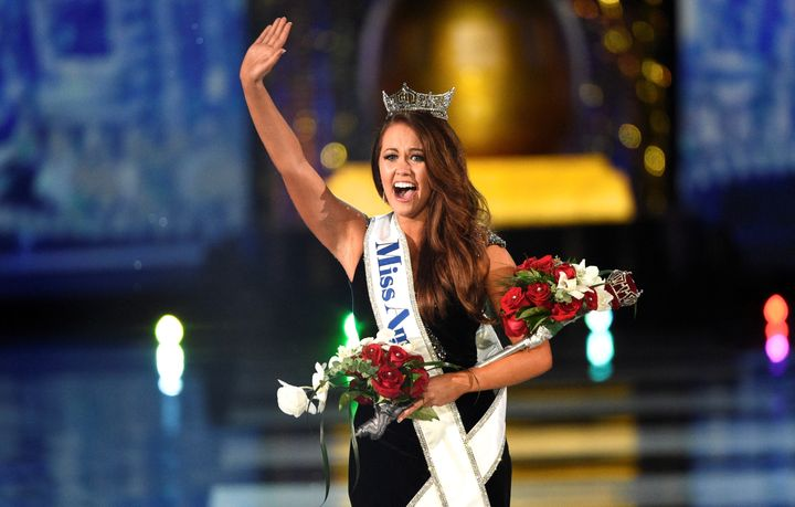 Miss North Dakota, Cara Mund, was crowned the winner of the Miss America 2018 pageant on Sept. 10, 2017.