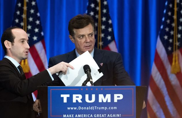 Paul Manafort, then chairman of the Trump campaign, at an event on June 22,