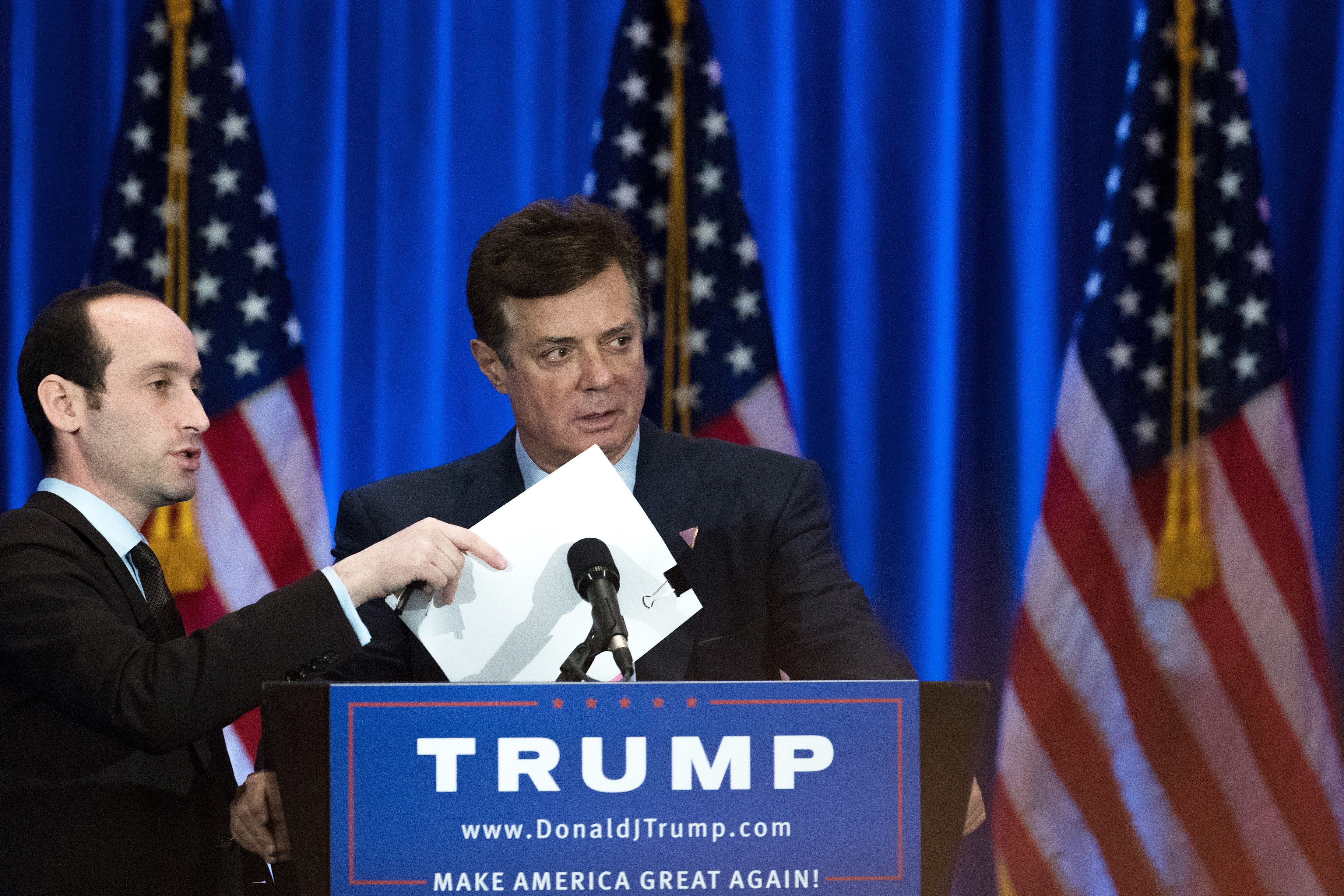 Paul Manafort, then chairman of the Trump campaign, at an event on June 22, 2016.