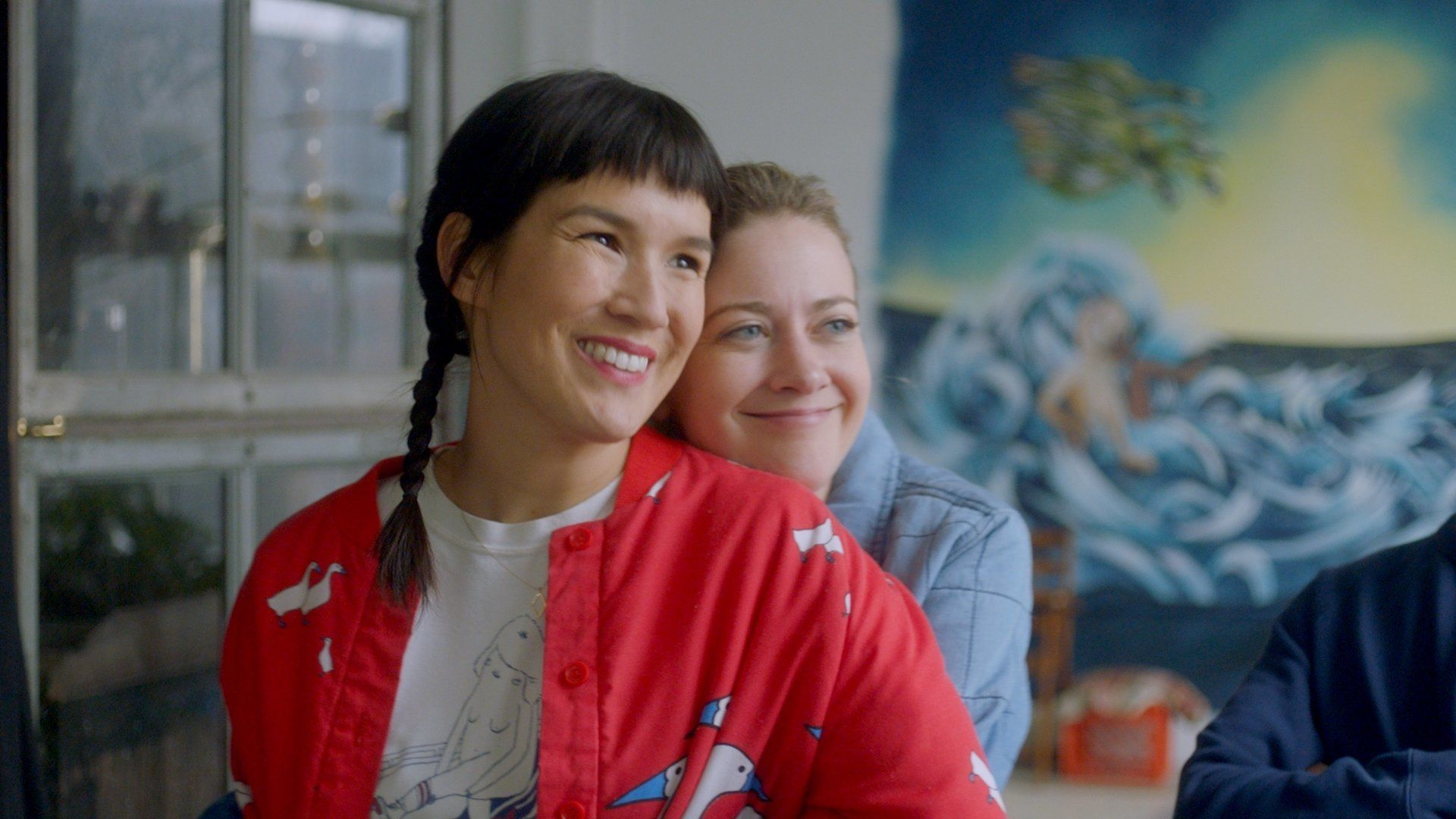 "Zoë Chao (left) and Meredith Hagner star in ""Strangers,"" now on Facebook Watch."