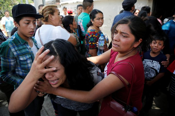 Guatemalan migrant Maria del Carmen Tambriz was sent back to Guatemala without her daughter after they were separated by U.S.