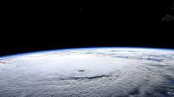 하와이 강타 예정인 시속 230km 허리케인을 우주에서