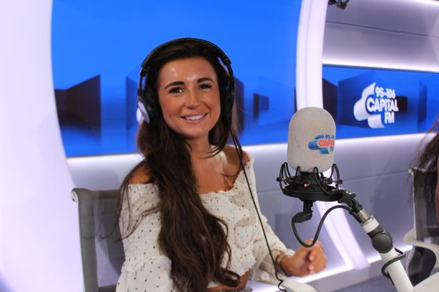 Dani was a huge hit with fans when she co-hosted Capital Breakfast with Roman