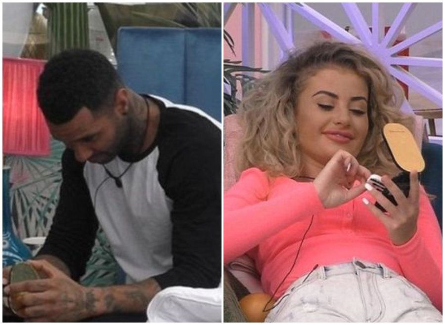 Jermaine Pennant And Chloe Ayling Break 'Celebrity Big Brother' Rules With Flirty