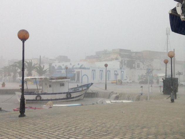 Bizerte paralysée par la pluie (PHOTOS,