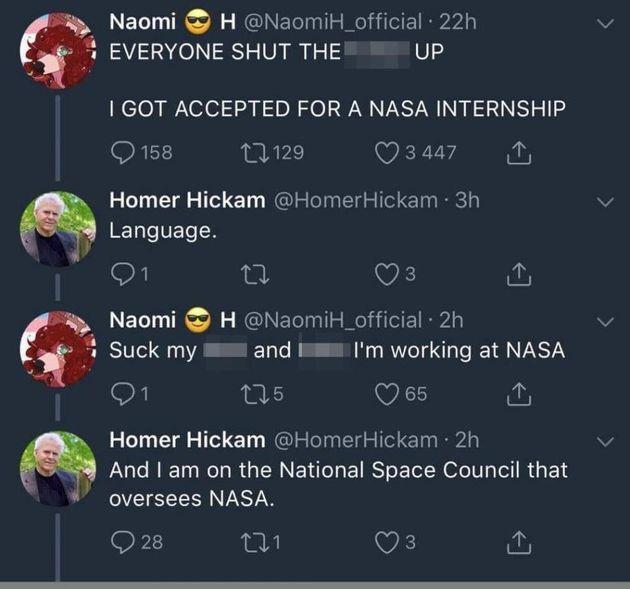 Απολύθηκε από την δουλειά των ονείρων της στη NASA επειδή έβριζε στο