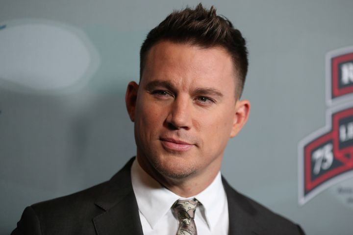 """Channing Tatum at the premiere of """"War Dog"""" in Los Angeles on Nov. 6, 2017."""