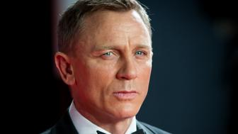 LONDON, ENGLAND - OCTOBER 26:  Daniel Craig attends the Royal Film Performance of  'Spectre' at Royal Albert Hall on October 26, 2015 in London, England.  (Photo by Samir Hussein/WireImage)