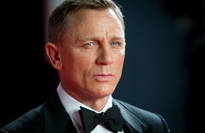 "Daniel Craig attends the premiere of ""Spectre"" in 2015."