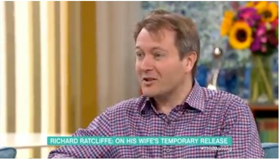Nazanin's Husband Can Hardly Contain His Joy As He Talks About His Wife's
