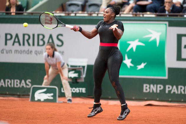 Serena Williams, pictured last May in the tournament, said her