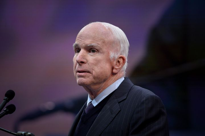 Sen. John McCain (R-Ariz.) announced on Friday he is discontinuing treatment for brain cancer.