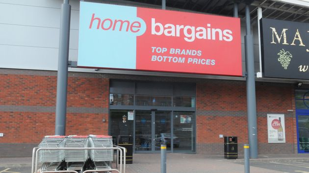 TheHome Bargains store in Tallow Hill where the attack