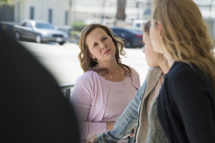 "Elizabeth Perkins in the season finale of ""Sharp Objects."""
