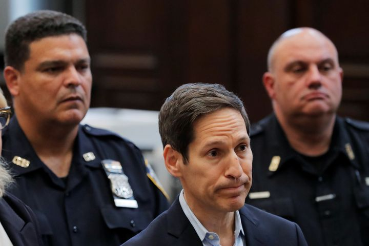 Former CDC headTom Frieden appears in criminal court in Brooklyn, New York, on Aug. 24.