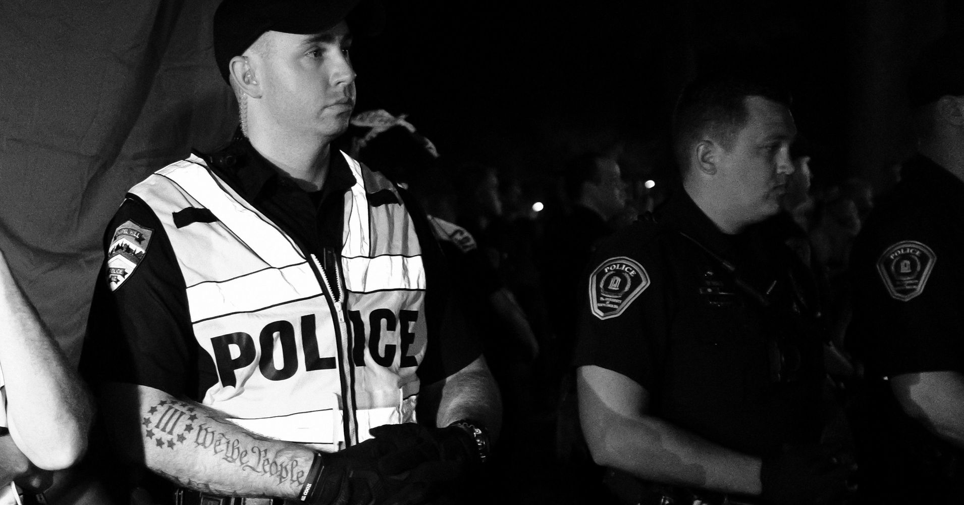 Chapel Hill Police Officer With Anti-Government Militia Tattoo Under  Investigation | HuffPost