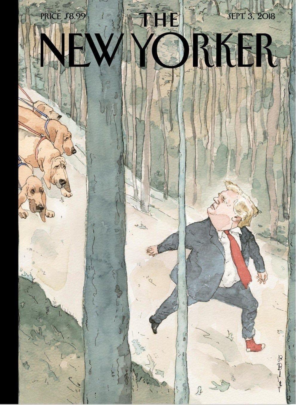 New Yorker cover September 3 2018