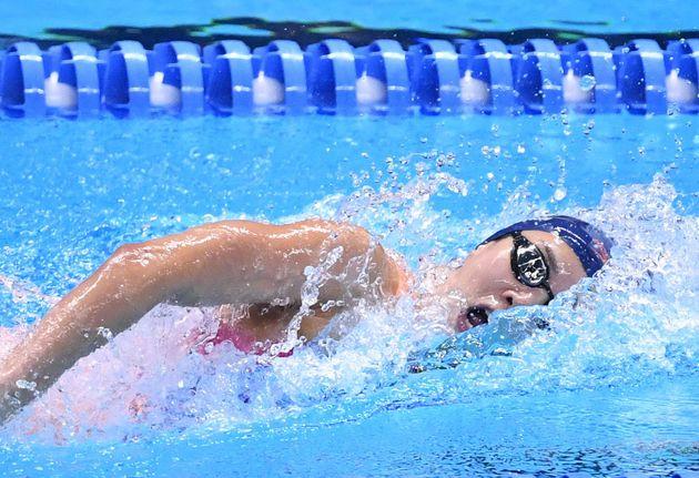 8년 만에 아시안게임 수영 금메달을 수확한 김서영이 한