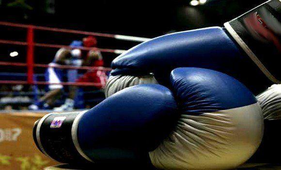 Mondiaux de boxe 2018: l'Algérien Douibi qualifié en 1/4 de