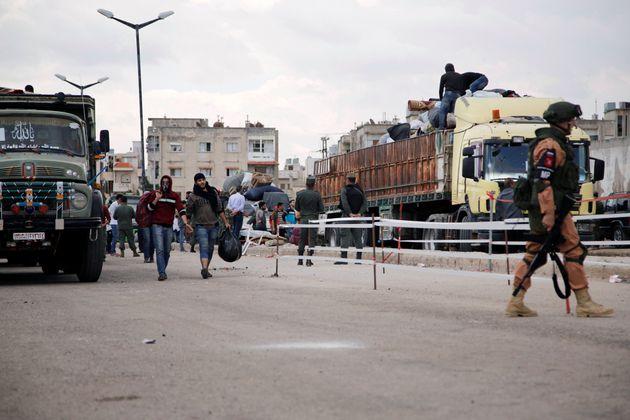 Syrie: Moscou affirme que les terroristes veulent utiliser des armes chimiques et accuser les forces