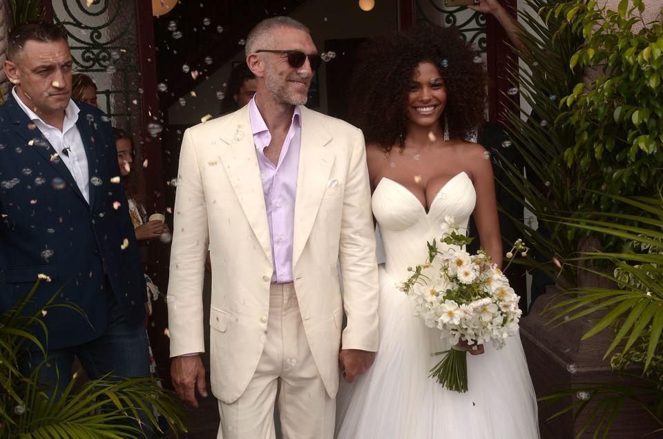 Η ζωή μετά τη Monica. Φωτογραφίες από τον γάμο του Vincent Cassel με το 21χρονο μοντέλο Tina
