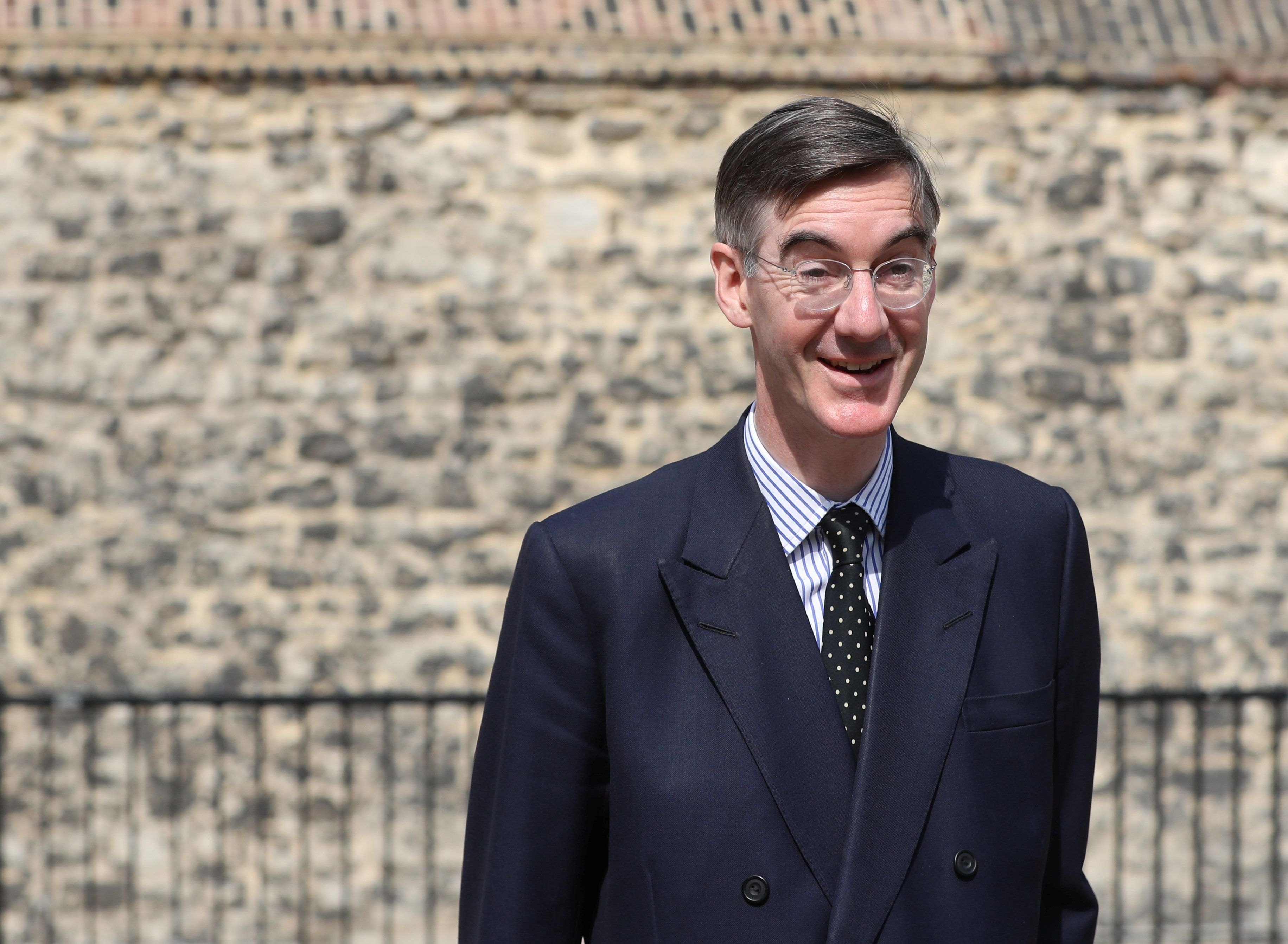 Jacob Rees-Mogg Wants People 'Inspected' At The Irish Border - Just Like During The