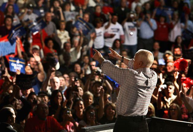 McCain im Wahlkampf