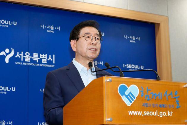 박원순 서울시장이 용산·여의도 개발 계획을 전면