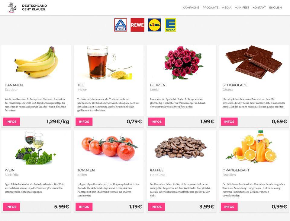 Die Preise gängiger Supermarktprodukte und die Gründe, warum sie so niedrig