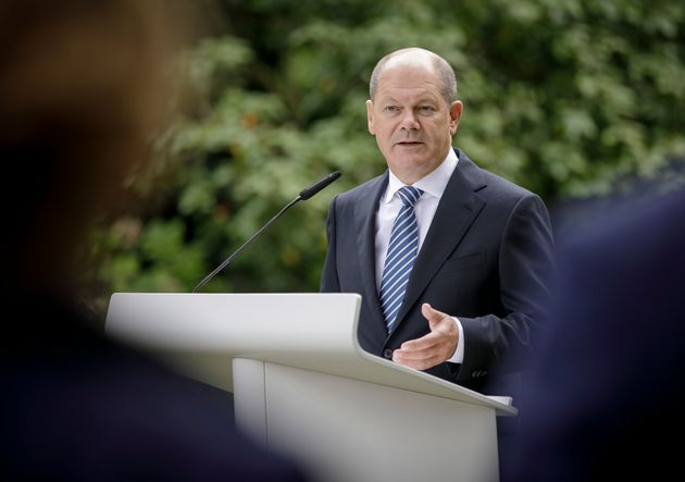 Olaf Scholz in