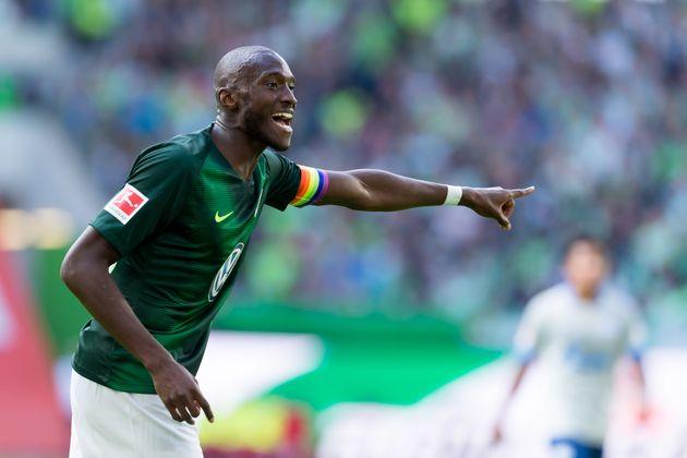 Wolfsburgs Kapitän Josuha Guilavogui im Bundesliga-Spiel gegen Schalke