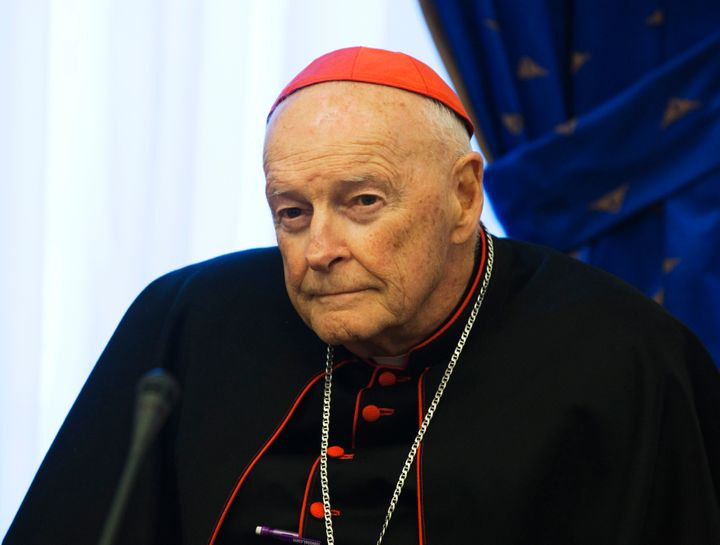 Ex-Cardinal Theodore McCarrick, seen in 2011, resigned as cardinal last month after a sex abuse investigation by the church d