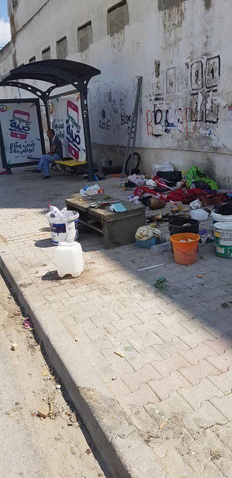 Un citoyen s'approprie la station de bus El Ghazala ... La municipalité de Raoued se